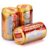 供应百威啤酒四川批发 百威纯生啤酒330ml24听装75元厂商供货
