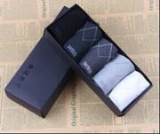 供应名牌男士竹纤维船袜(5双/盒)