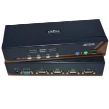 多电脑互换共享器高清4进1出USB+PS/2混接KVM切换器批发