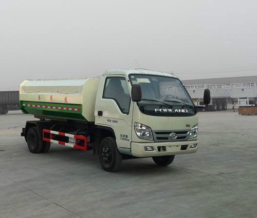 供应小型福田自卸式垃圾车图片