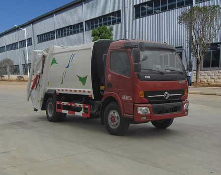 供应东风多利卡压缩式垃圾车改进型图片