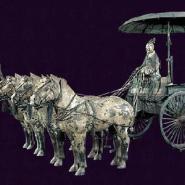西安铜车马纪念品价钱图片