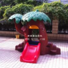 供应塑料魔术树_儿童游乐设备