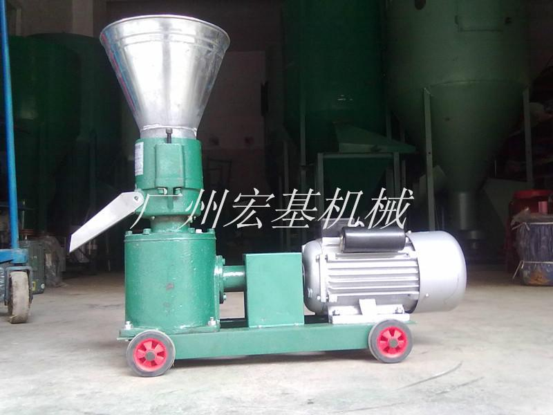 供应广州小型家用饲料颗粒机图片