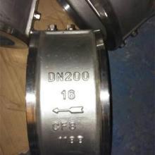 供应温州北高阀门304不锈钢对夹止回阀图片