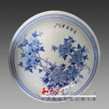 供应陶瓷纪念盘定做,景德镇陶瓷厂批发