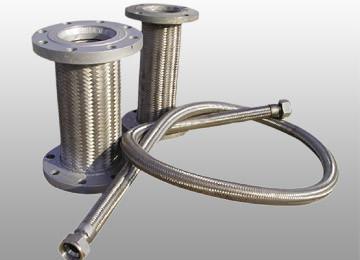 法兰连接金属软管