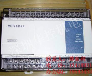 供应深圳三菱FX1N-40MR-D价格图片