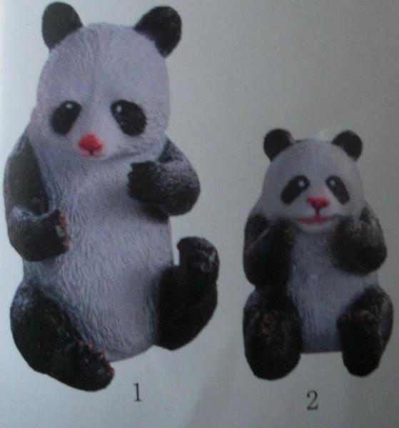供应德方园仿真动物模型熊猫模型