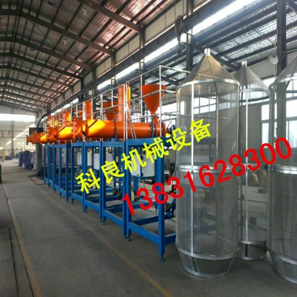 供应最新型防火真金板设备,不燃聚苯板连续生产线价格