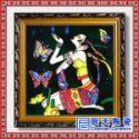供应手绘青花瓷板画陶瓷壁画