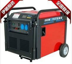 供应5千瓦家用小型静音发电机图片