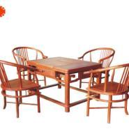 现代休闲茶桌五件套图片