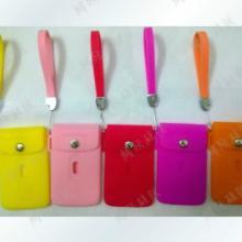供應硅膠卡包卡套公交考勤卡包行李牌進口高級軟硅膠包批發