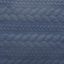 供应全棉空气层提花面料时装空气层布料图片