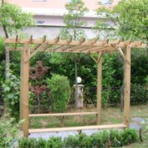 供应庭院防腐木葡萄架,庭院防腐木葡萄架定做,庭院防腐木葡萄架价格