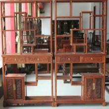 红木家具/实木家具/缅甸花梨木/平安博古架/多宝格/明清古典中式