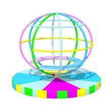 电动地球仪培养孩子的空间刚 认识地球仪 学习地理
