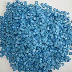 蓝色LDPE颗粒 再生塑料颗粒 蓝色