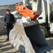 挖掘机快换装置图片