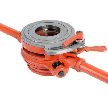 供应沪工114型轻型管子铰板2寸管子铰板 手动套丝机
