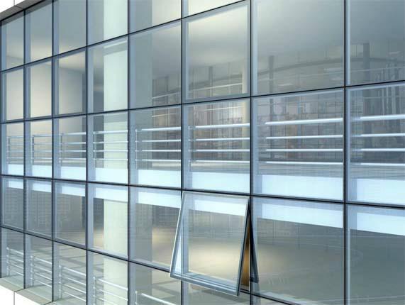玻璃幕墙 窗户 效果图