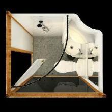 供应河南许昌整体卫浴办事处酒店宾馆装修改造专用的整体浴室