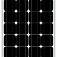 100W多晶太阳能板太阳能组件图片