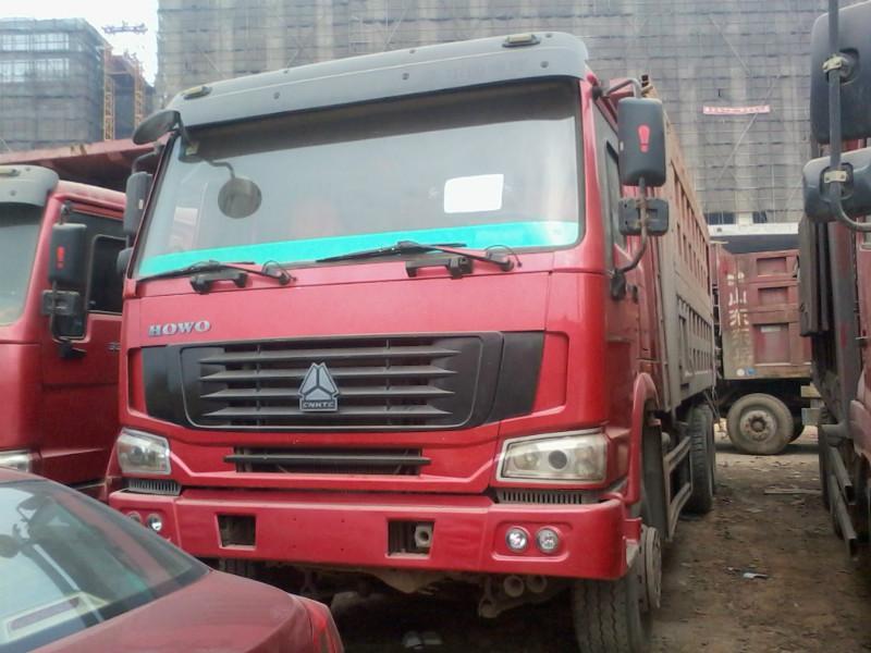 供应广东豪沃后八轮自卸车图片