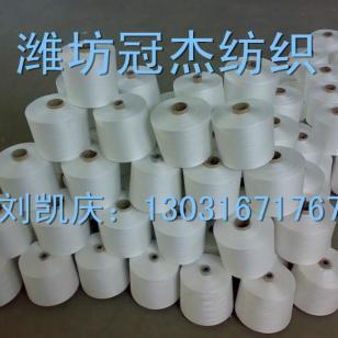 12支气流纺人棉纱图片
