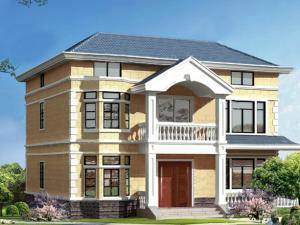 二层半别墅平面图