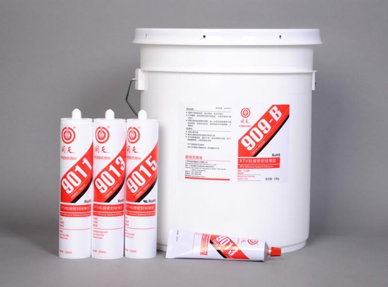 供应单组分RTV粘接密封脱肟型硅橡胶,室温硫化硅橡胶9010系型号