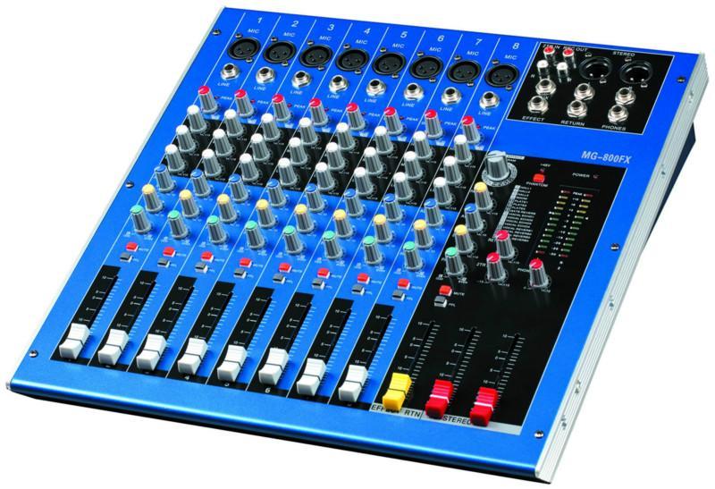 供应MG80FX纯路调音台供应商,专业调音台生产厂家