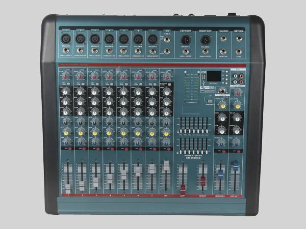供应CB-900大功率调音台带功放USB混响,厂家生产直销调音台