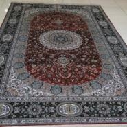 欧式古典高贵纯手工编织地毯图片
