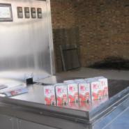供应广州牛奶砖型包装机,全自动牛奶砖型纸盒包装机广州价格批发