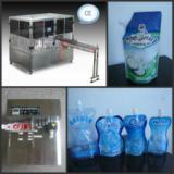 供应河间豆浆豆奶自立袋灌装机/厂家/价