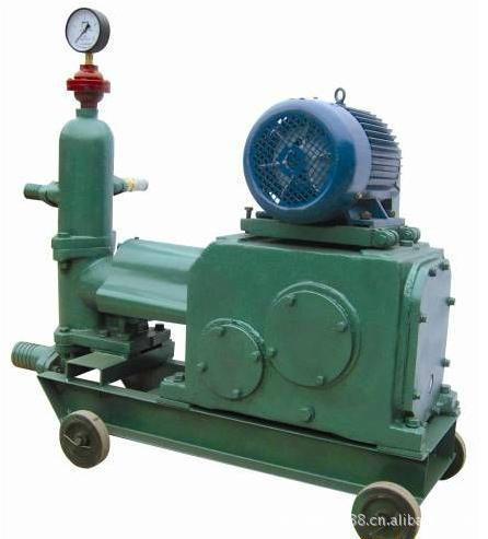 供应灰浆泵的构造与工作原理