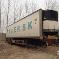 供应二手冷藏车15米冷藏车半挂车