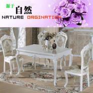 河南客厅韩式餐桌椅组合图片