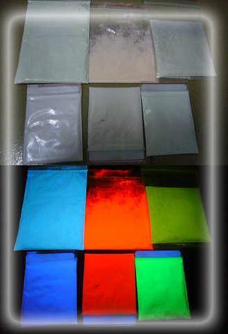 供应红色陶瓷荧光粉耐高温荧光粉印花服饰专用荧光粉