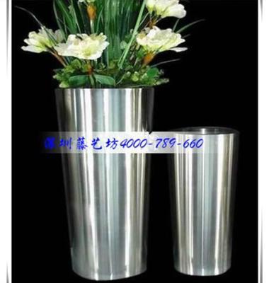 不锈钢花盆图片/不锈钢花盆样板图 (2)