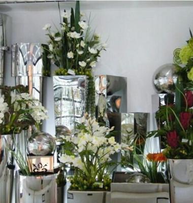 不锈钢花盆图片/不锈钢花盆样板图 (3)