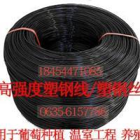 供应大棚塑钢线托幕线久顶线种植拉线