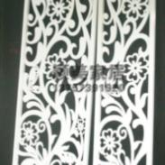 PVC雕花板/镂空板/屏风隔断图片