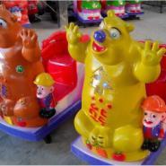 供应熊大玩具投币摇摇车熊出海三合一镭射灯摇一摇投币机售价