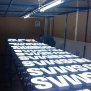 广州PC面板发光字图片