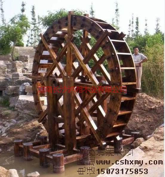 供应张家界防腐木水车,张家界防腐木水车厂家