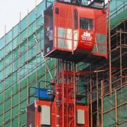 施工电梯租赁图片