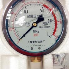 供应YN100耐震压力表1.6mpayk150